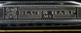 "Губная гармошка Hohner BLUES HARP ""C"""