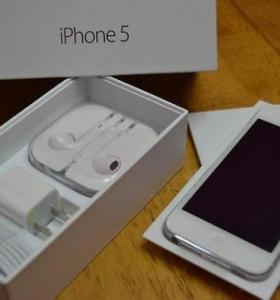 IPhone 5 white LTE