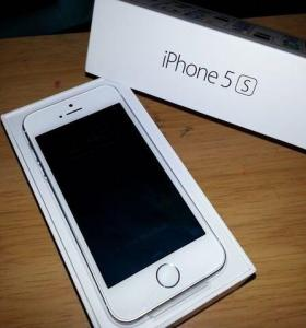 Apple IPhone 5s silver 16