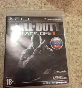 Диск Call of Duty black ops 2 на PS3