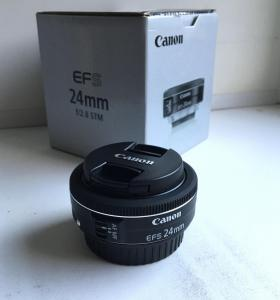 Canon EFS 24mm f2.8 STM