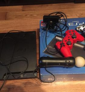 PS3 slim+ништяки