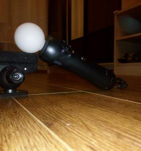 Playstation move и камера