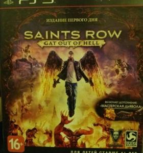 ДИСК Saints row на ps3
