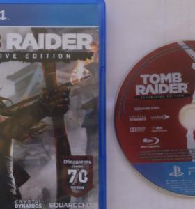 Диск PS4 Tomb Raider Definitive Edition