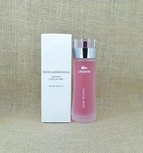 """🎁🐊LAKOST """"love of pink"""" 100 ml ✔TESTER"""