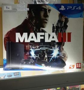 PlayStation 4 1TB+игра Мафия 3
