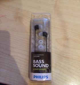 Наушники philips bass sound she3590