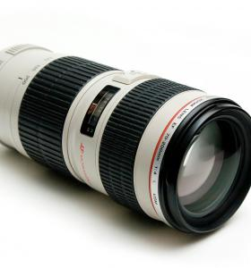 Canon 70-200 L f4. 0 USM IS