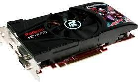 Radeon power color 6850 1gb