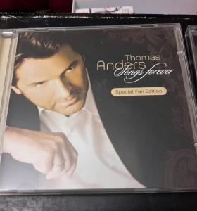 Диск Thomas Anders Songs forever fan edition