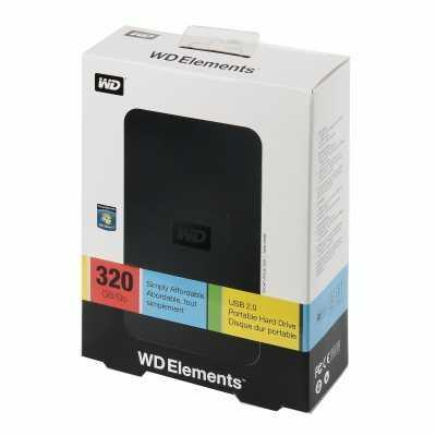 Wd elements 320gb. Фото 1. Ижевск.