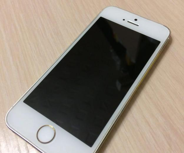Iphone 5s gold 16g оригинал. Фото 1.