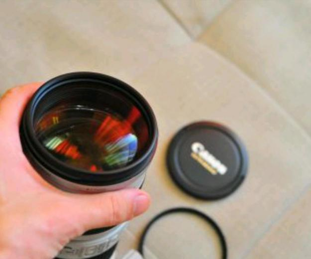 Canon ef 70-200mm f/2.8 is usm. Фото 2.