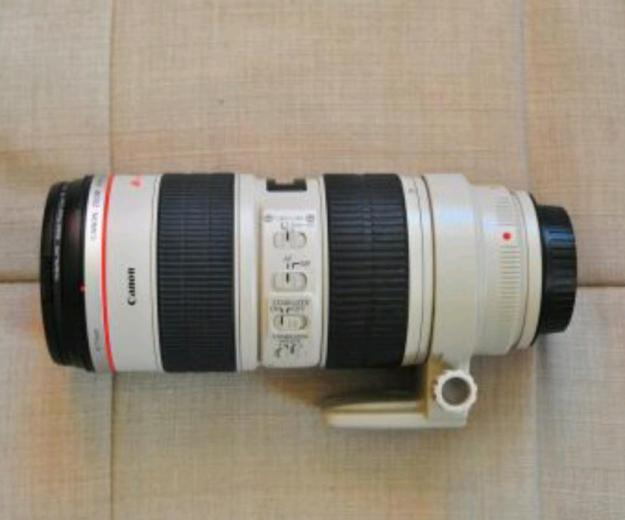 Canon ef 70-200mm f/2.8 is usm. Фото 1.