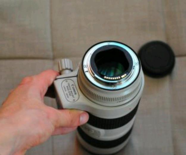 Canon ef 70-200mm f/2.8 is usm. Фото 3.