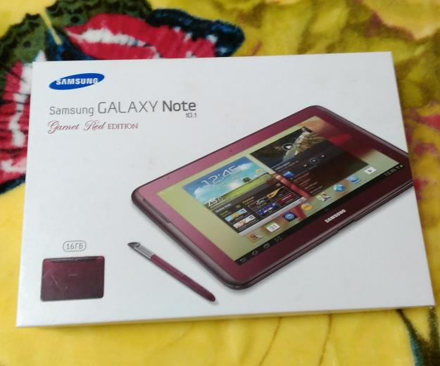 Планшет samsung galaxu note 10.1 garnet red editio. Фото 2.