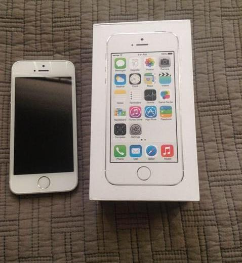 Apple iphone 5s 16 gb lte. Фото 1. Брянск.