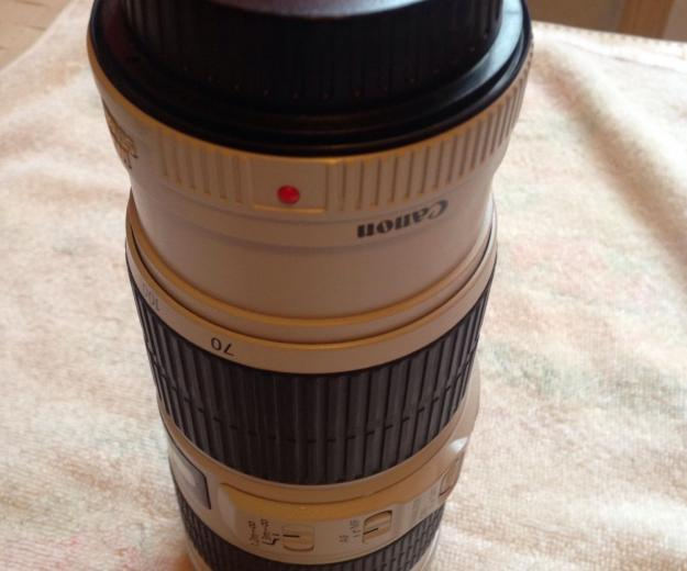 Canon 70-200mm f/4 is. Фото 4.