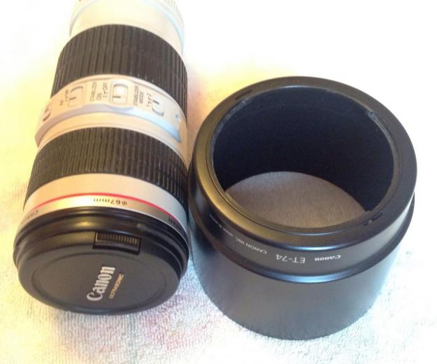Canon 70-200mm f/4 is. Фото 2.