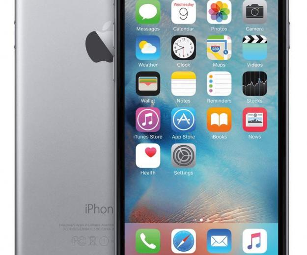 Iphone 6 space gray. Фото 1.