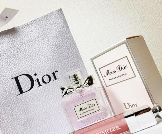 Парфюмерия cd miss dior cherie blooming bouquet 💐. Фото 1.