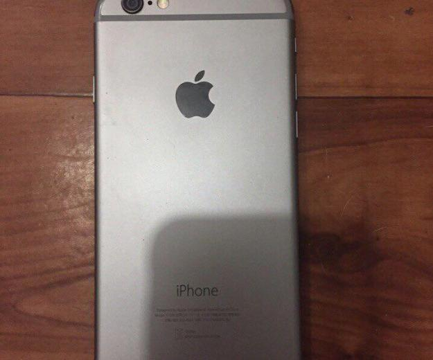 Iphone 6 space gray 16gb. Фото 1.