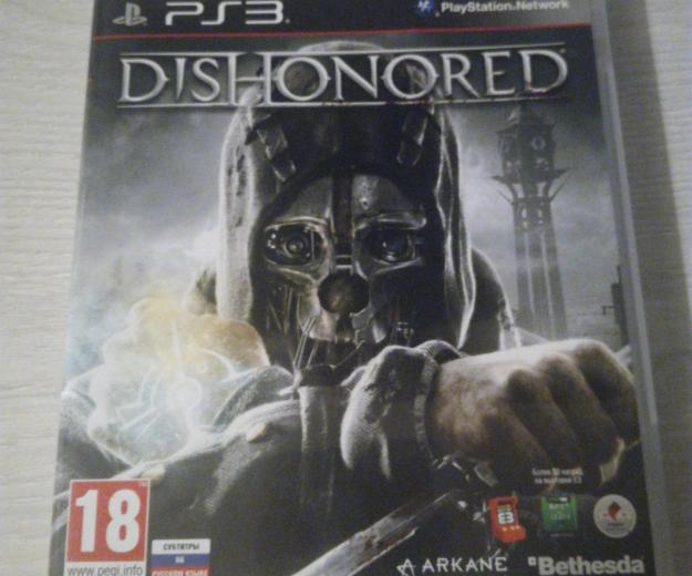 Dishonored ps3. Фото 1.