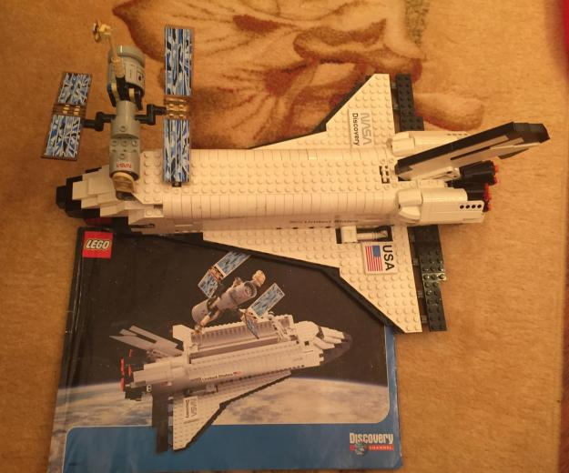 Lego 7470 discovery space шаттл. Фото 1.