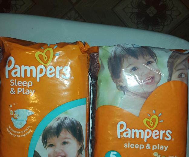 Подгузники pampers slip and play. Фото 1. Кубинка.