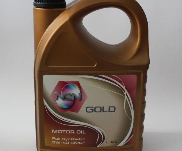 Ngn gold 5w-40. Фото 1.