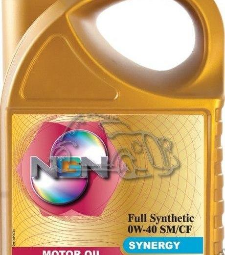 Ngn synergy 0w-40. Фото 1.