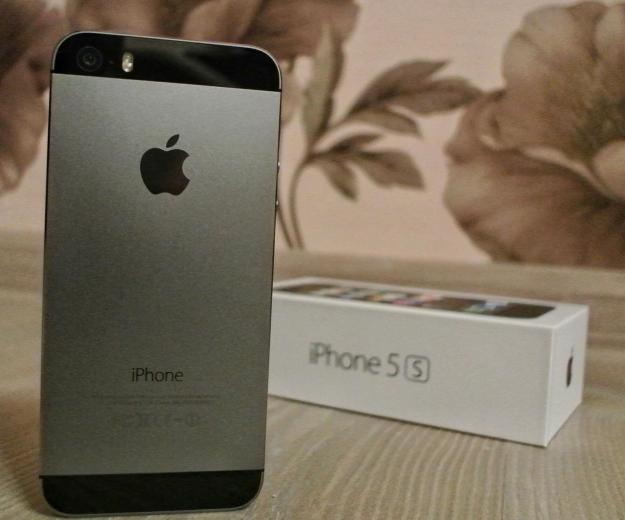 Iphone 5s 16gb space grey. Фото 1.