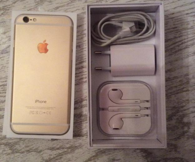 Iphone 6 64gb gold. Фото 1. Москва.