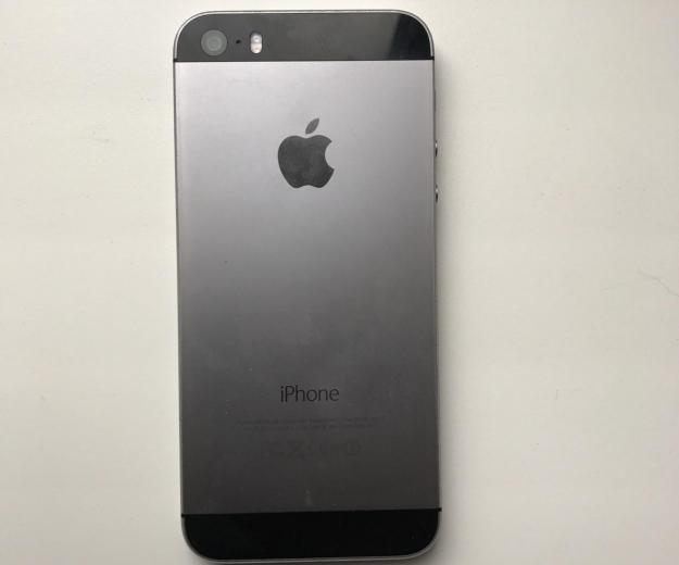Iphone 5s space grey 16. Фото 1.