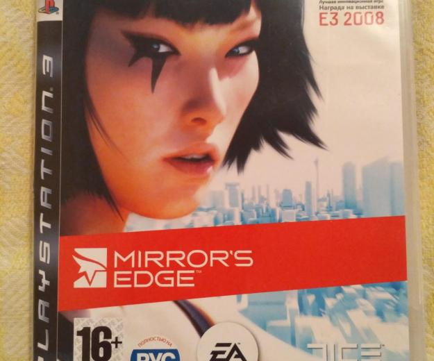 Игра на ps3 mirrors edge. Фото 1.