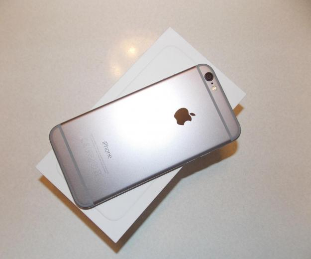 Iphone 6 64 gb space gray. Фото 1.