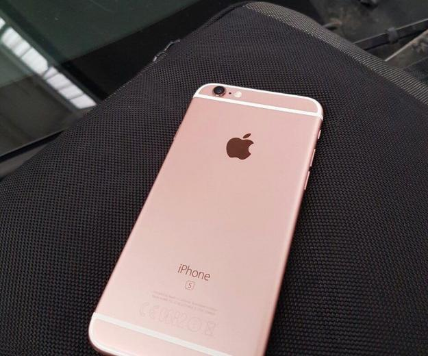 Iphone 6 s 128gb rose gold. Фото 2.