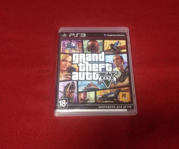Gta 5 для playstation 3 лицензия. Фото 1.