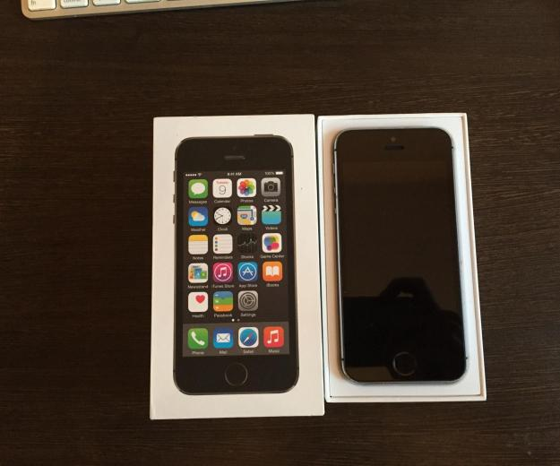 Iphone 5s space gray 16 gb. Фото 3.