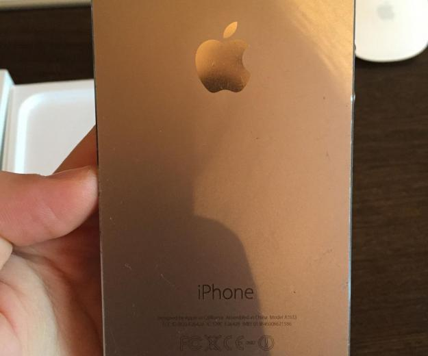 Iphone 5s space gray 16 gb. Фото 4.