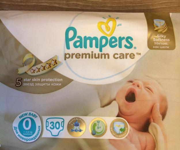 Pampers premium care. Фото 1.