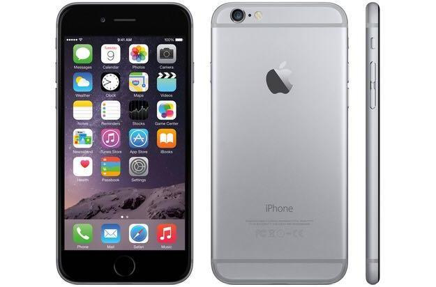 Apple iphone 6 16 gb space gray. Фото 1.