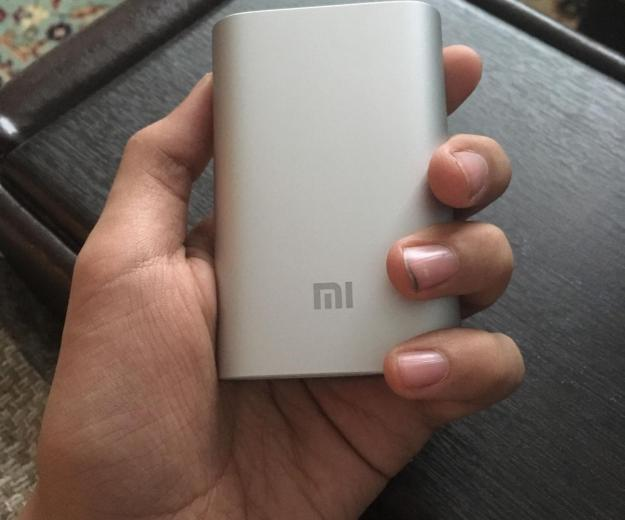 Xiaomi mi power bank 10 000 mah. Фото 1.