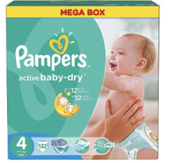 Pampers active baby-dry 3, 4. Фото 2.
