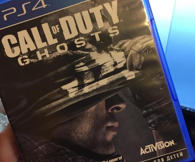 Call of duty ghosts ps4. Фото 1.