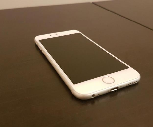 Iphone 6s 64gb silver ростест. Фото 1.