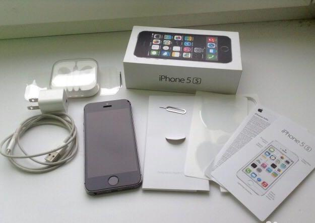 Iphone 5s 16gb space gray. Фото 1. Анапа.
