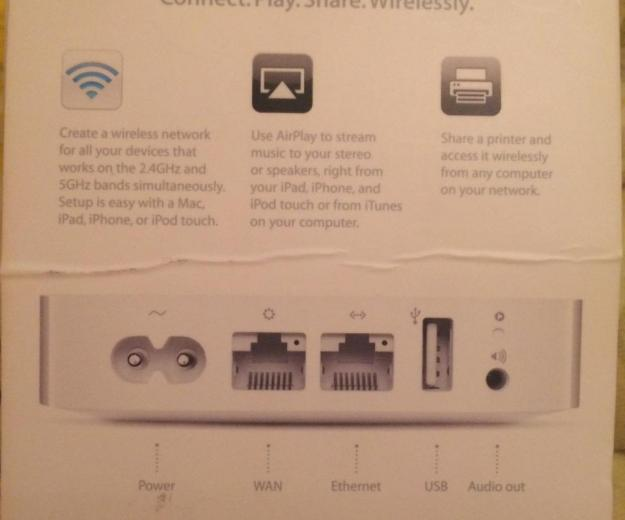 Airport express(роутер)802.11n wi-fi. Фото 3.