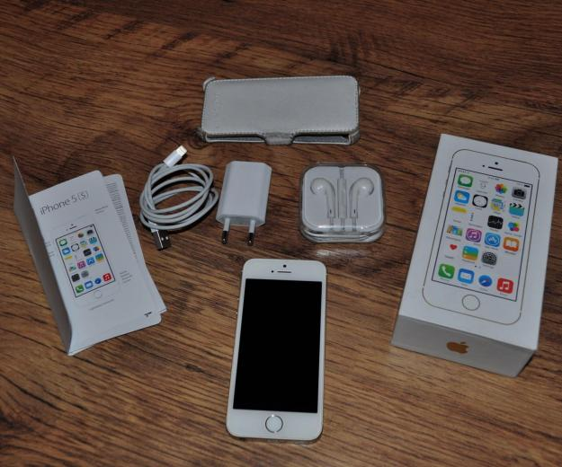 Iphone 5s gold 16gb. Фото 4.